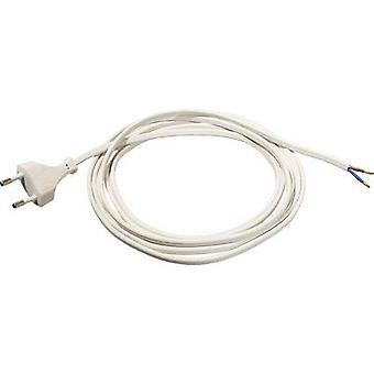 as - Schwabe 70641 Current Cable White 1.50 m