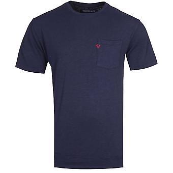 True Religion Pocket Logo Navy T-Shirt
