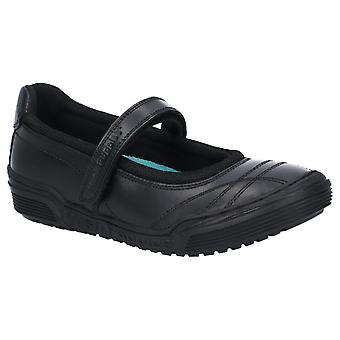 Hush Puppies Amelia Snr Touch Fastening School Shoe