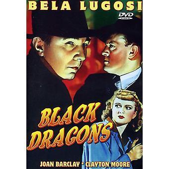 Black Dragons (1942) [DVD] Yhdysvallat tuoda