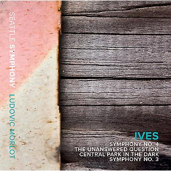 Ives / Seattle Symphony / Morlot - Symphony No. 3 & 4 - the Unanswered Question [CD] USA import