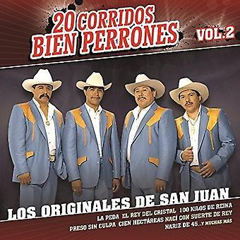 Los Originales De Sa - 20 Corridos Bien Per [CD] USA import