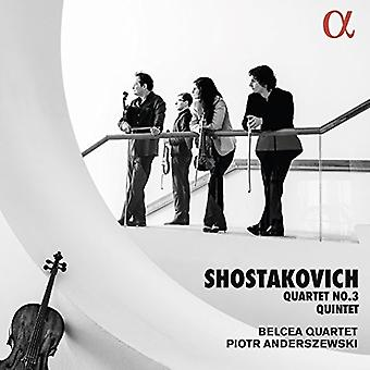 Chostakovitch / Anderszewski - Quatuor 3 [CD] Usa import