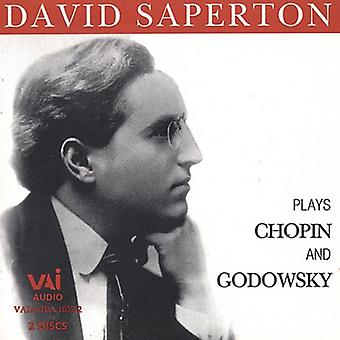 David Saperton - David Saperton Plays Chopin and Godowsky [CD] USA import
