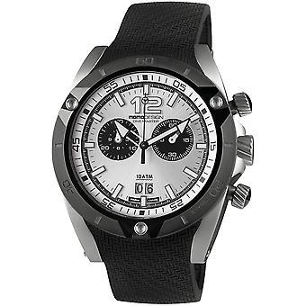 MOMO Design Dive Master Watch MD282SB-41 - Rubber Gents Quartz Chronograph