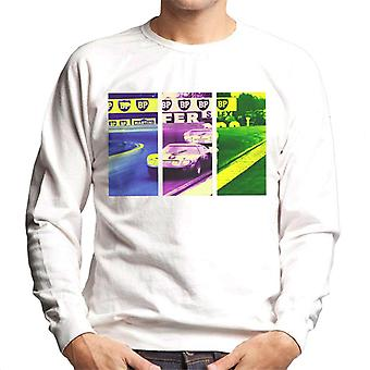 Motorsport Images Ickx Oliver Ford GT40 leads Hobbs Men's Sweatshirt