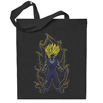 Post impressionistiska unga stammar Dragon Ball Super Totebag