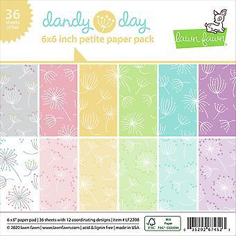 Lawn Fawn Dandy Day Petite 6x6 Polegada Paper Pad