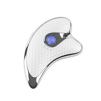 EMS Microcurrent Face Massager- Gua Sha Scraping Lymphatic Drainage Face MassageLift Anti Aging Anti Wrinkles Back Neck Arm