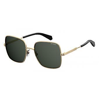 نظارات شمسية للجنسين 6060/S2F7/M9 الذهب / الرمادي