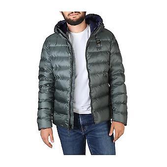 Blue - Clothing - Jackets - 19WBLUC03035-005046_667BU - Men - seagreen - L