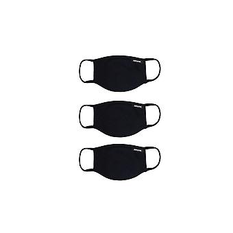 Hype Face Mask 3 Pk (black)