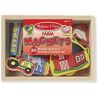 Melissa & Doug Farm Magnets