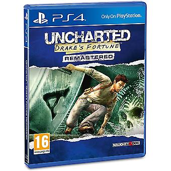 Uncharted Drake's Fortune Remastered PS4 Game (cudzí jazyk na box)