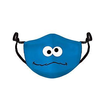 Sesame Street Cookie Monster Adjustable Cloth Face Mask