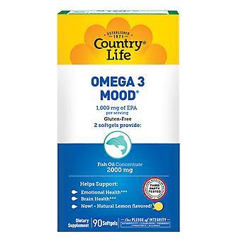 Country Life Omega 3 Humör, 90 Softgel
