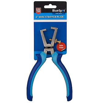 Blue spot 08190 6 inch soft grip wire strippers