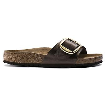 Birkenstock Madrid Toffe com Maxi Buckle - Tight Fit