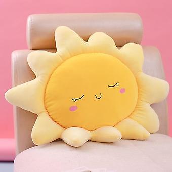 Söt sol, Moln Fyllda Mjuk kudde (35/45/50/60/70cm)