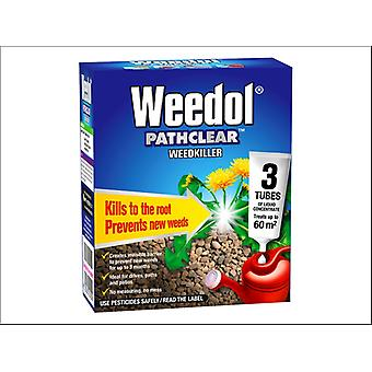 Miracle Weedol Pathclear 3 Tubes