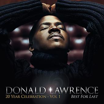 Donald Lawrence - Best for Last [CD] USA import