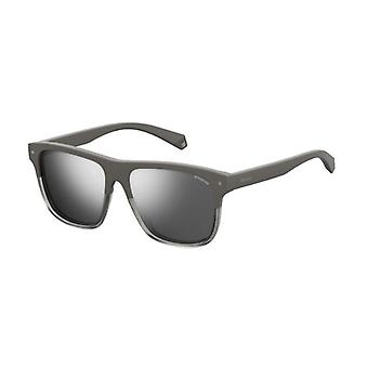 Polaroid PLD6041 KB7/EX Grey/Polarised Grey-Silver Mirror Sunglasses