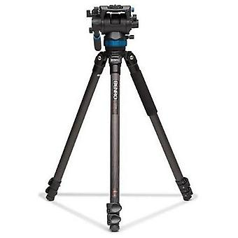 Benro s8 single leg carbon fiber video tripod kit (c373fbs8)