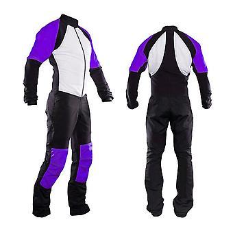 Freefly costume de parachutisme violet se-06