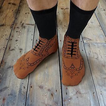 Ginger fox - brogue socks