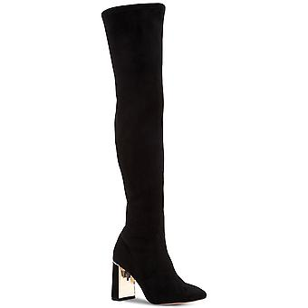 BCBGeneration النساء أليانا مربع ة إلى أخرى على أحذية أزياء الركبة