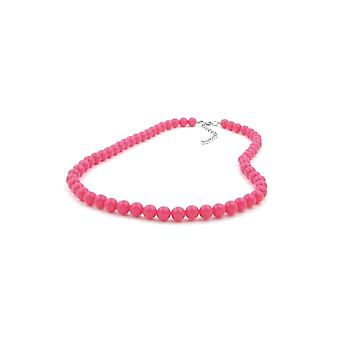 Halskette Perlen Rose-rosa 8mm 40cm