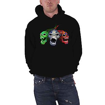 Iron Maiden Hoodie Nights Of The Dead Band Logo new Official Mens Black Pullover