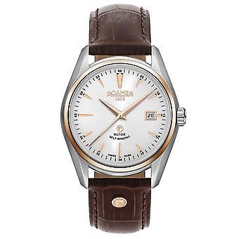 Roamer 210633 49 25 02 Searock Classic White Dial Wristwatch
