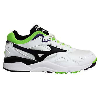 Mizuno Sport Style Sky Medal White Lace Up Mens Running Trainers D1GA192409