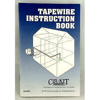 Dolls House Diy Cir-kit Tapewire Instruktion Hæfte til ledningsføring dit hus