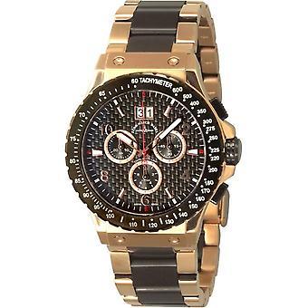 Zeno-Watch - Wristwatch - Men - Goldfinger 91055-5040Q-BRG-s1M