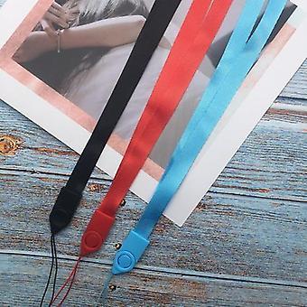 Sangles de téléphone portable, lanière suspendue en métal de corde de cou
