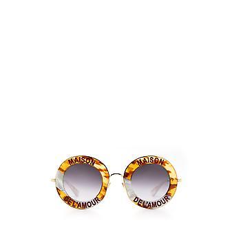 Gucci GG0113S havana female sunglasses