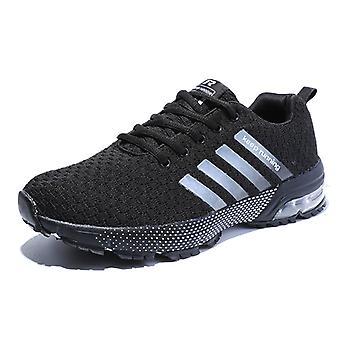 Zapatos para correr al aire libre para hombre 8702 Negro