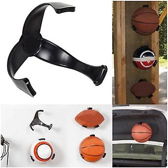 Ball Claw Basketball Holder, Plastic Stand Support Football, Soccer Rugby,