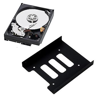 Ssd Hdd To 3.5 Inch Metal Mounting Adaptateur Bracket Dock Hard Drive Holder