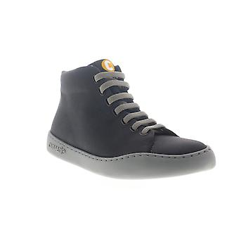 Camper Peu Touring  Mens Black Canvas Euro Sneakers Shoes