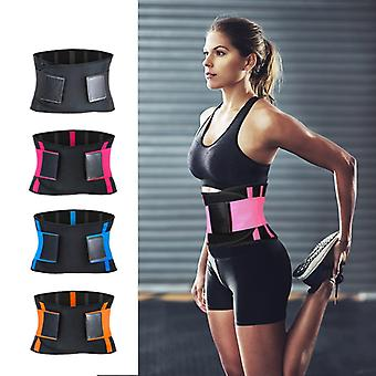 Ajustable Waist Back Support Waist Trainer Trimmer Belt Sweat Utility Belt for Sport Gym Fitness Haltérophilie Tummy Slim Belts