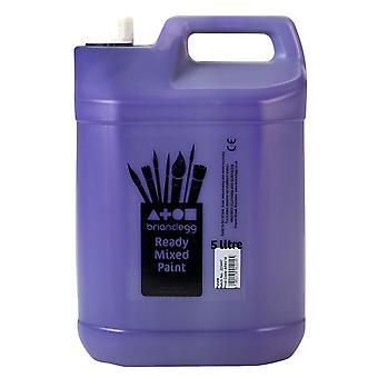 Brian Clegg Ready-mix Paint 5 Litre - Purple