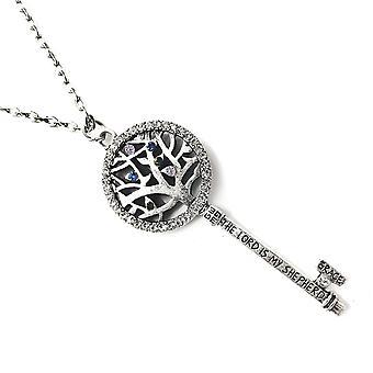 Arbor Tree Bible Verse Necklace