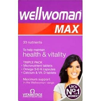 Vitabiotics Wellwoman Max Capsules & Tablets - 28+28+28