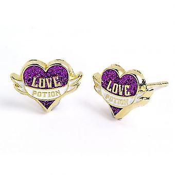 Harry Potter Silver Plated Earrings Love Potion