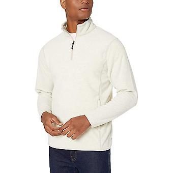 Essentials Men's Quarter-Zip Polar Fleece Jacke