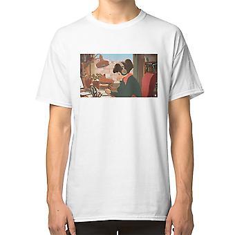 لو فاي يدق لدراسة والاسترخاء لفتاة بديلة (يوم) تي قميص لوفي