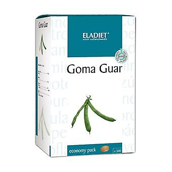 Guar tuggummi 500 tabletter av 400mg